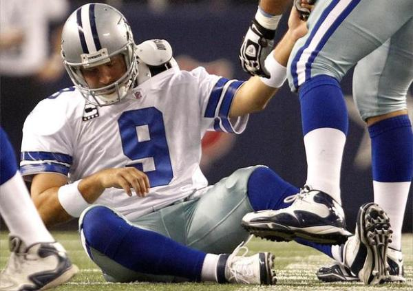 Even his harshest critics can't deny Romo's toughness.